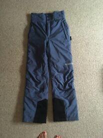 Columbia women' ski salopettes size 10-12