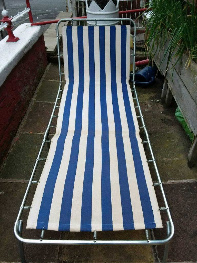 Retro Sun Lounger In Stockport Manchester Gumtree