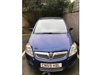 Vauxhall Zafira 1.9 CDTi PCO and UBER ready