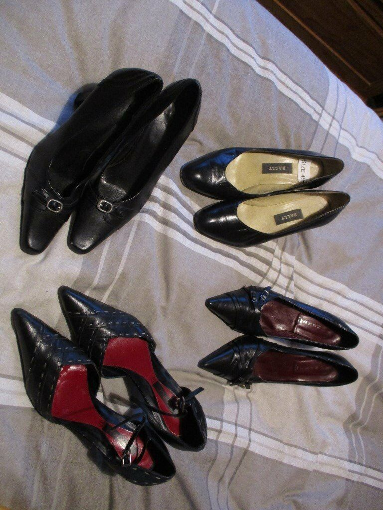 4 pairs shoes – Size 4 & 4.5 - £3.00 the Lot