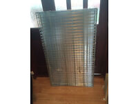 Large dog galvanised cage