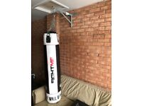 Punch bag with accessories