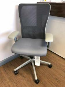 Haworth Zody Chairs - Fully Loaded - Silver Finish $350