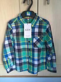 Boys shirt 4-5 yrs M&S