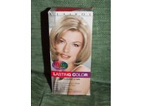 Two bottles Clairol Loving Care hair colour to cover grey - ash blonde and reddish brown