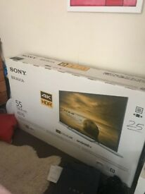 55 Sony KD55XD7005BU 4k Ultra HD HDR Android Smart LED TV brand new in BOX
