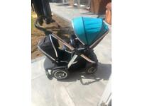 Oyster Max Double Pushchair/Travel System