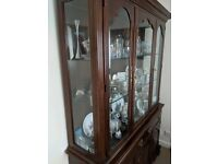 Glazed Dining Room Cabinet