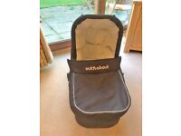 Out 'N' About Nipper Single Carrycot, Black