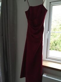 Wine Bridesmaid dresses two sizes
