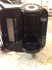 Tommee Tippee perfect prep formula heating machine