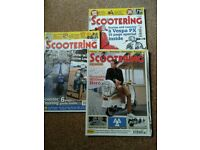 Scootering magazine back issues.