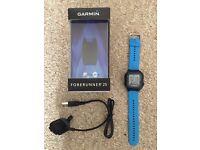 Garmin Forerunner 25 GPS Running Watch - Blue/Black