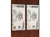 BRMC Glasgow 30/07/18 2x tickets