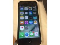 Apple I phone 5c white 16gb unlocked