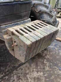 Fiat newholland case weights