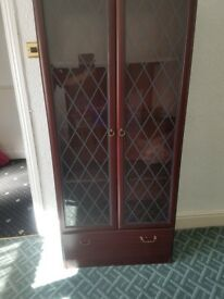 For Sale Tall Display Cabinet