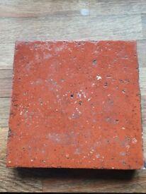 Ruabon Brick Red Quarry Floor Tiles 6'' x 6''