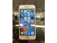 I Phone 6 16GB unlocked mint condition White clour