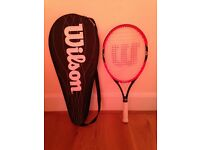 2 Wilson Federer PS25 junior tennis rackets