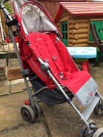 Maclaren Techno XT Pushchair in Red