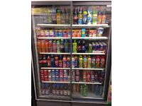 CARAVELL SLIDING DOOR FRIDGE ++ VERY GOOD CONDITION ++ IDEAL FOR CONVENIENCE STORE
