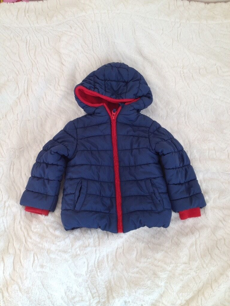 Winter jacket from Mothercare 12 18 months boyin Currie, EdinburghGumtree - Winter jacket from Mothercare for 12 18 months old boy. Really good condition