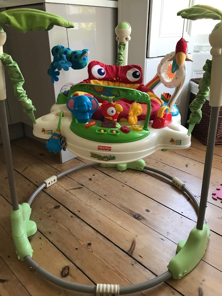 Rainforest Jumperoo Fisher Price With Instructions In Surbiton