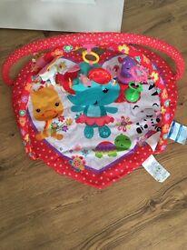 Fisher price baby girls playmat