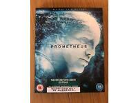 Prometheus blu Ray for Sale.