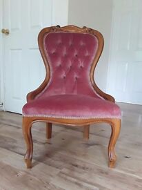 Reproduction spoonback chair