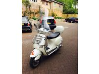 VESPA ET4 125cc WHITE (125cc) SCOOTER £699