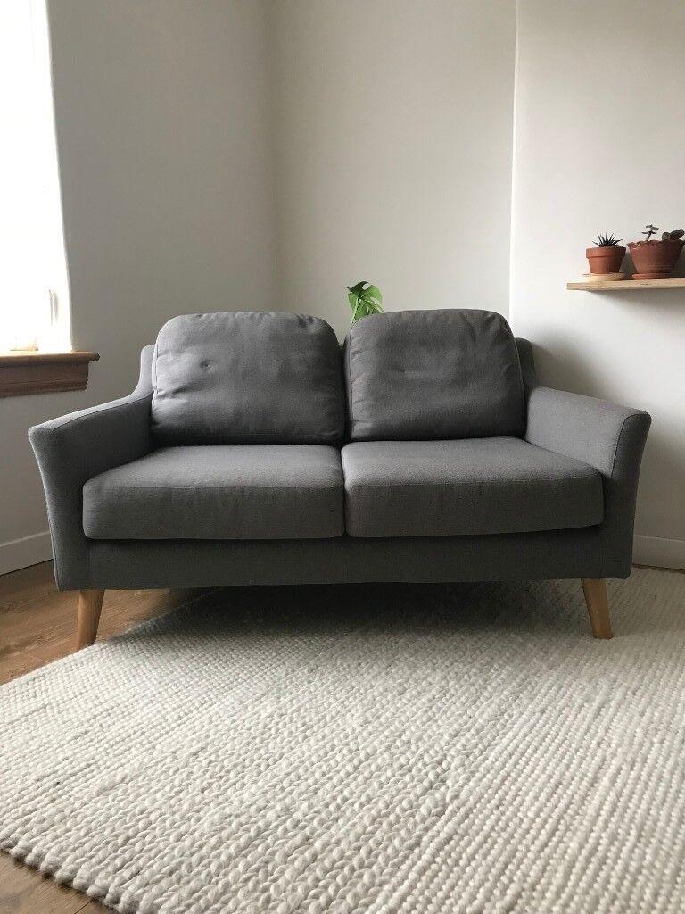 Made furniture sofa 2 seater mid century modern