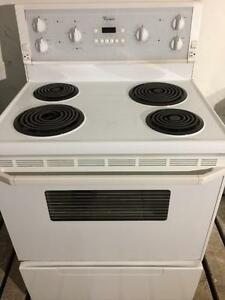 Whirlpool White Stove, Self Cleaning, FREE 30 Day Warranty
