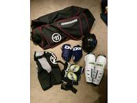 Inline / Ice hockey gear pads protection