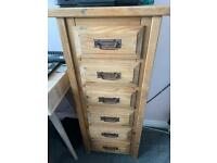Set drawers solid , heavy