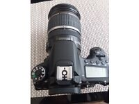 Canon 70D with 17 - 55mm 2.8 lens for sale