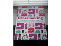 Dressmaking step-by-step guide hardback book good condition