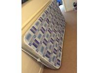 Free single sprung mattress