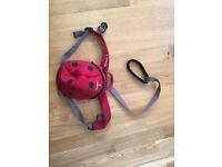 Little life ladybird reins backpack