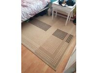 Big rug.