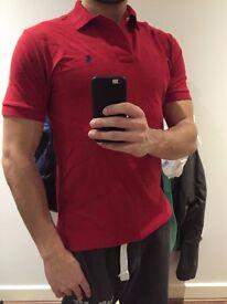 Original Red Polo shirt Medium Size