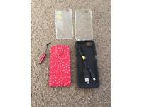 I phone 6 case and charger case
