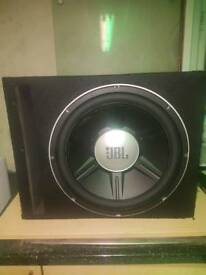JBL competition subwoofer! 15inch! 5000w! Cheap!