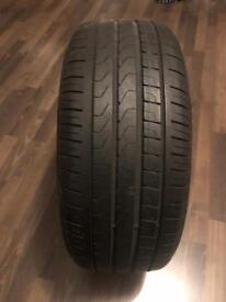 Barley used tire- Pirelli Cinturato P7 225/45 R17