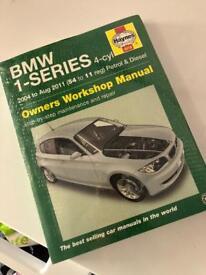 BMW 1 series manual
