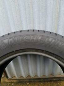 205 55 16 Michelin Prirmacy HP tyre about 7mm tred left
