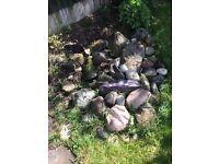 Free decorative rocks/stones for garden