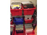 "Job Lot of 3000 Record Vinyl 12"" Singles - Mixed Genres"