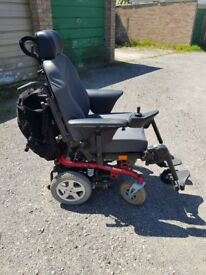 Electric wheel chair, brilliant condition- very sturdy and comfortable